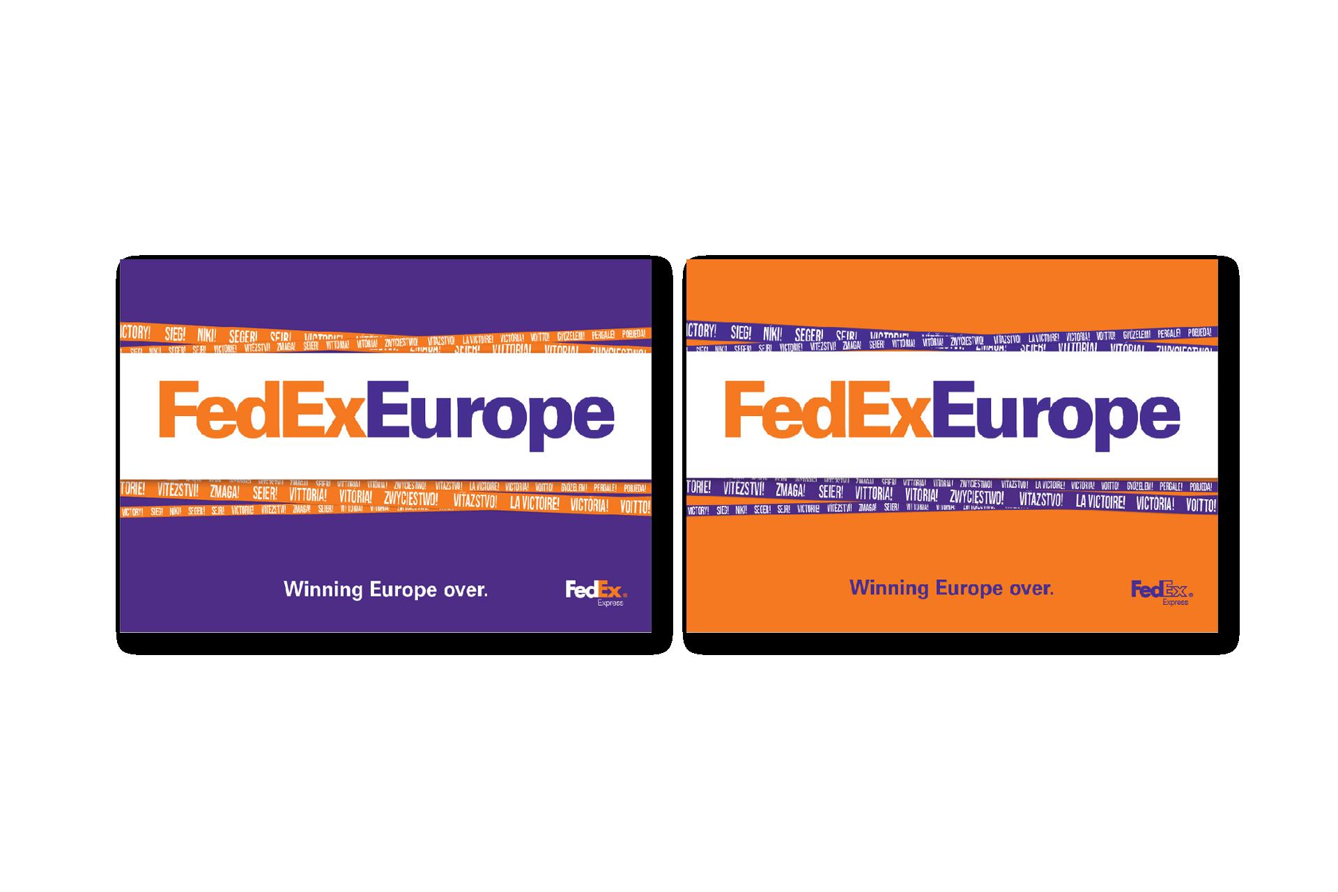 FedEx posters 2