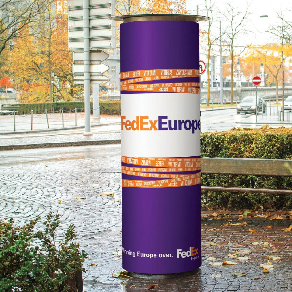 FedEx sign 2