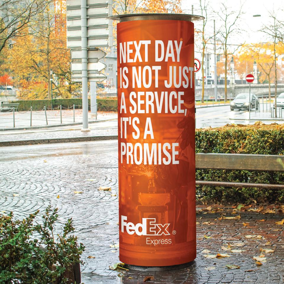 FedEx sign 1