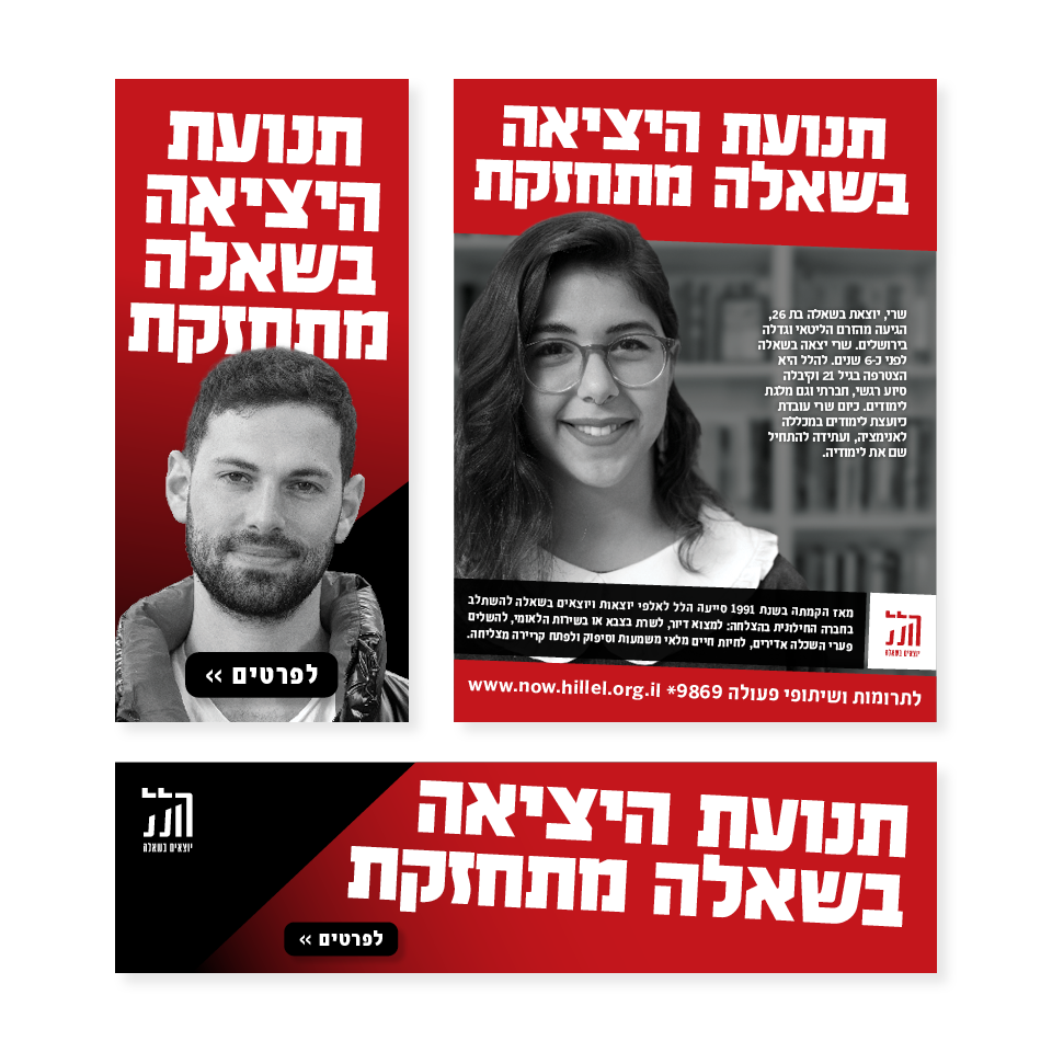 Hillel campaign formats
