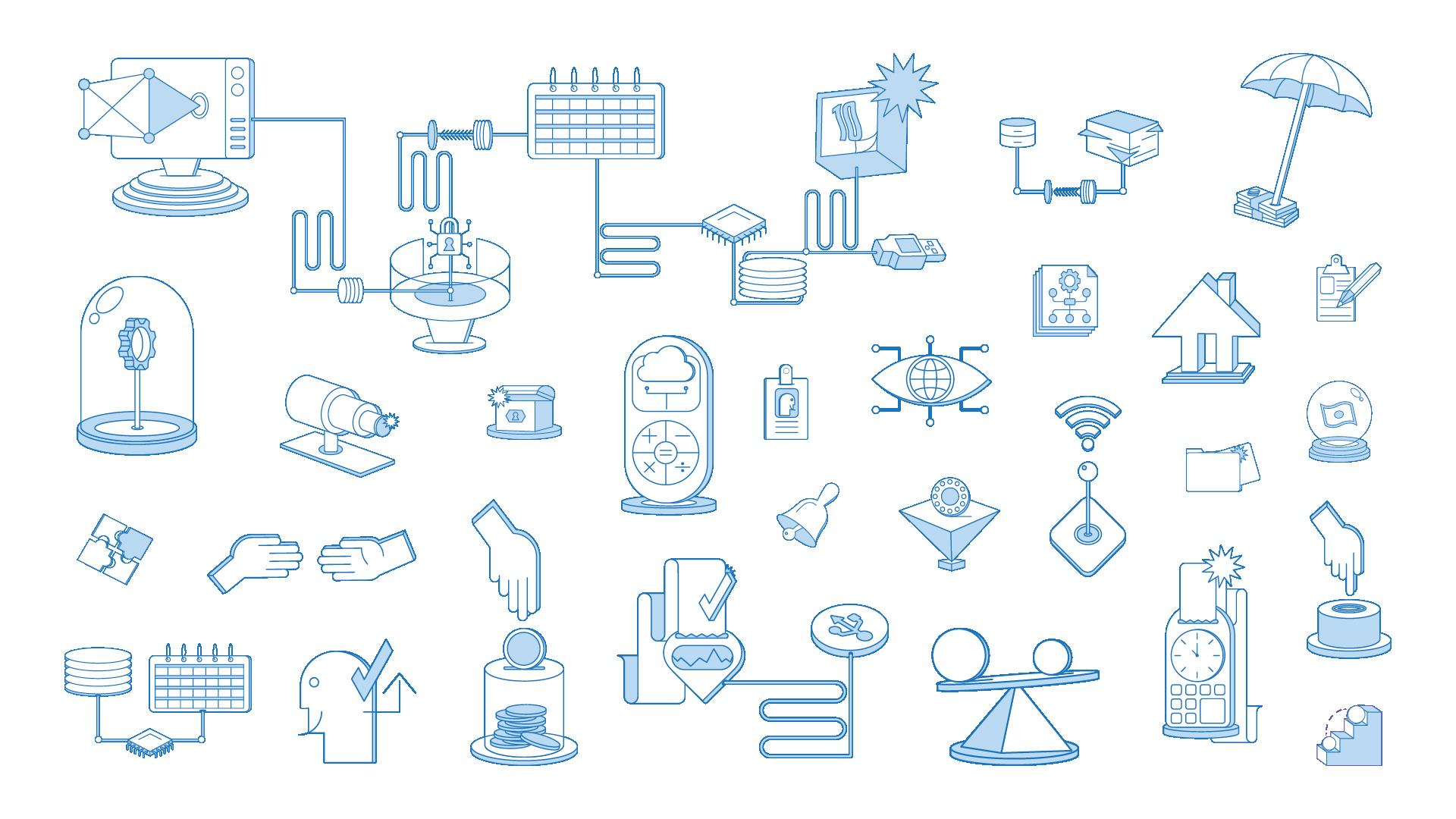 Malam icon design
