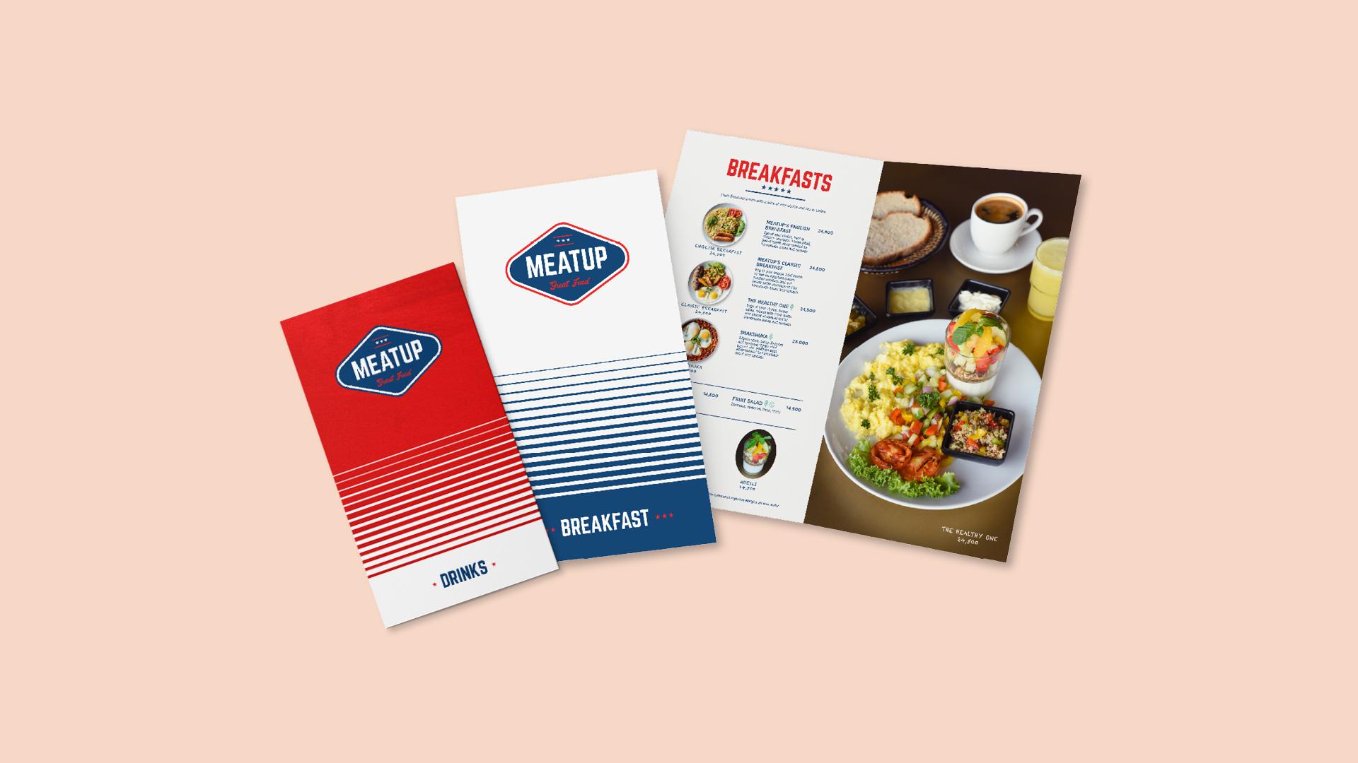 Meatup menu